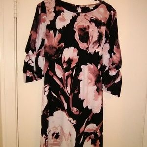 Cato Watercolor floral dress